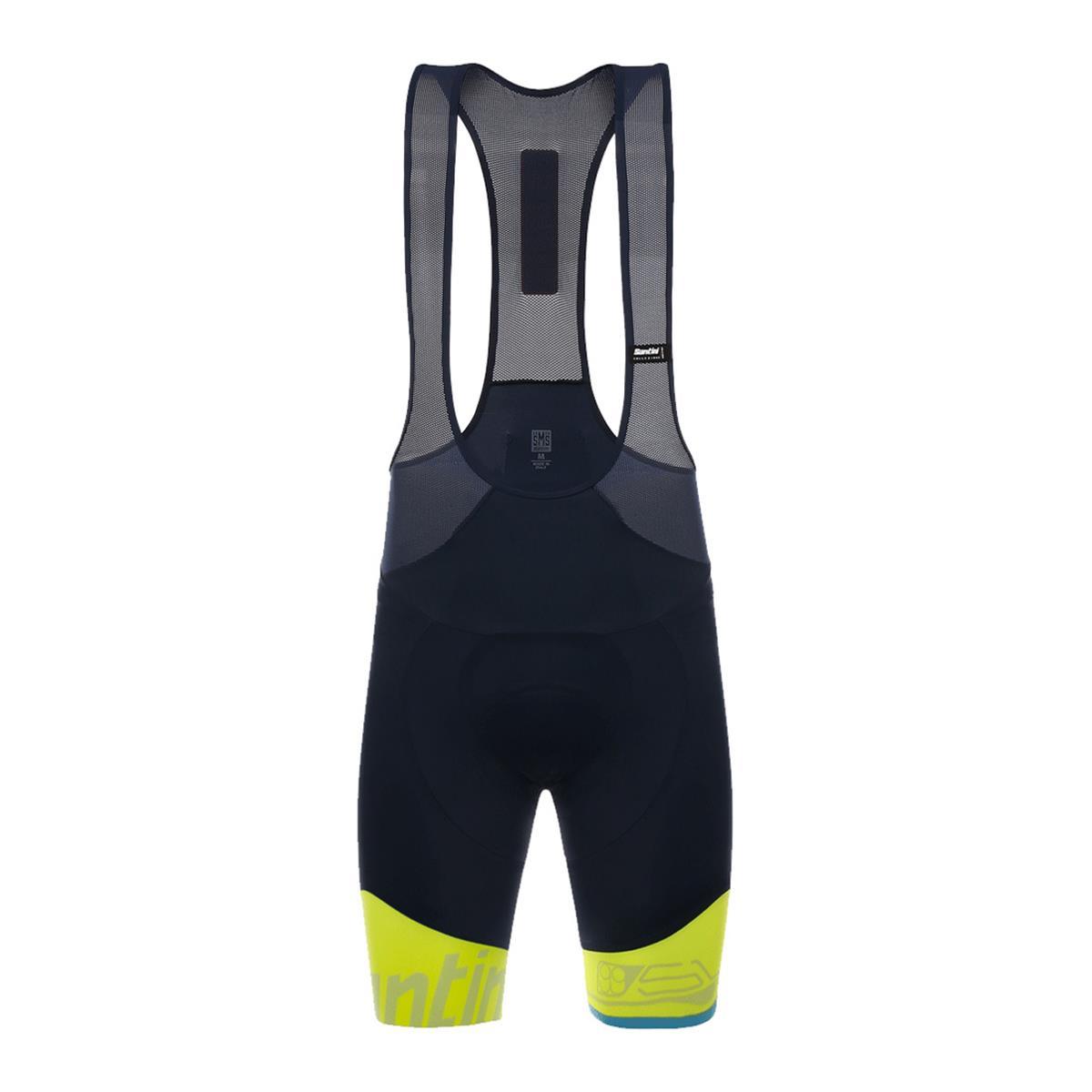 b8a4fb993 Santini Sleek 99 Mens Bib Shorts (Yellow)