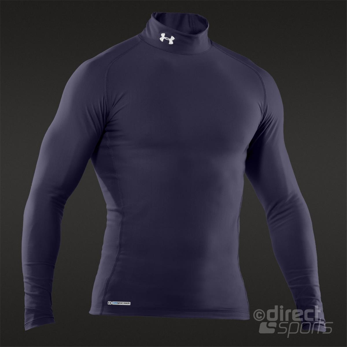 1352dcd65 under armour mens coldgear armour compression mock neck long sleeve shirt