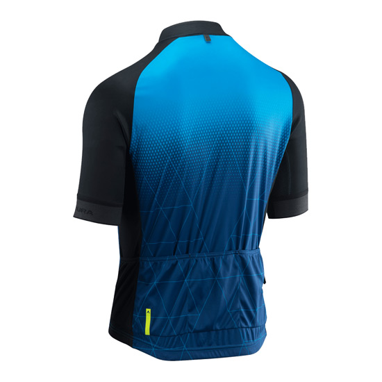 Altura Peloton Mens Short Sleeve Prism Jersey (Blue- Black)