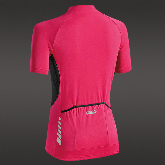 Altura Night Vision Womens Short Sleeve Jersey (Raspberry)