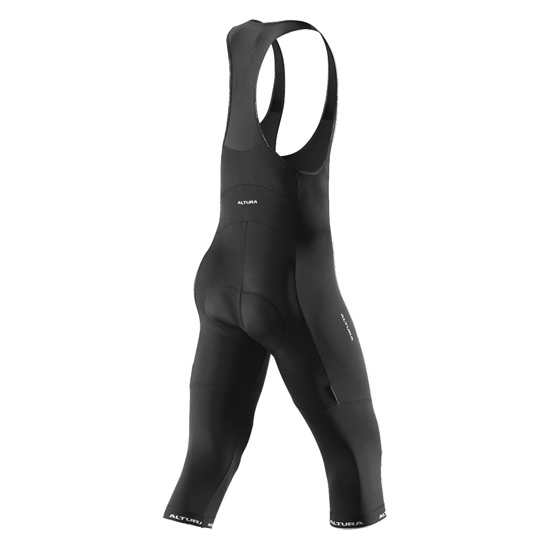 Altura Progel 2 Three Quarter Mens Bib Tights (Black)