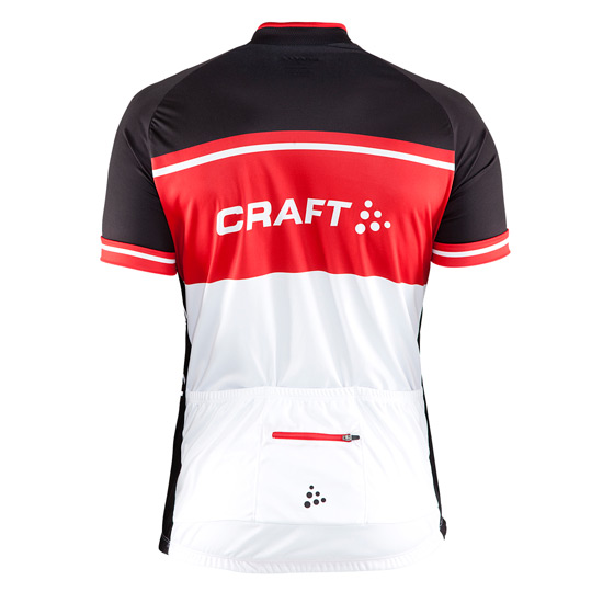 Craft Classic Logo Mens Jersey (Black-Red-White)