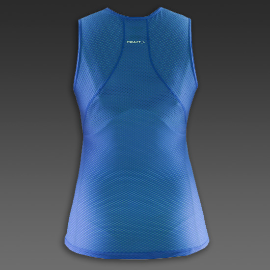 Craft Cool Seamless Womens Sleeveless Baselayer (View Blue)