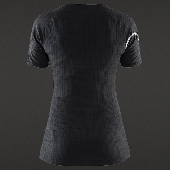Craft Be Active Extreme Womens Short Sleeve Top (Black)