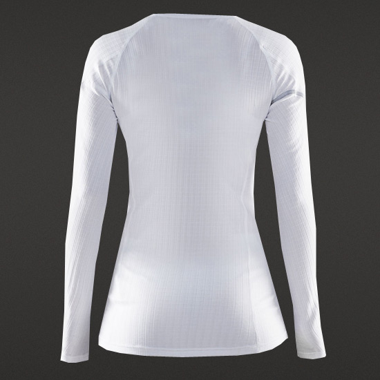 Craft Be Active Extreme Womens Long Sleeve Top (White)