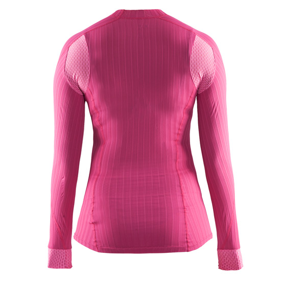Craft Be Active Extreme 2.0 Womens Long Sleeve Top (Smoothie-Pop)