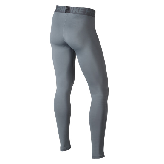 Nike Pro Warm Mens Tights (Cool Grey)
