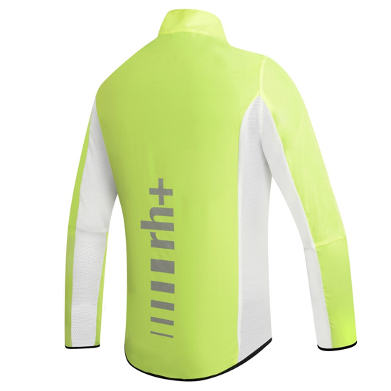 RH+ Wind Shell Mens Jacket (Fluo Yellow-Black)
