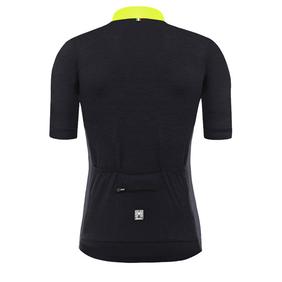 Santini Origine Mens Short Sleeve Jersey (Yellow)