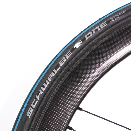 Schwalbe One V-Guard Folding Clincher Tyre (700 x 25c) Blue