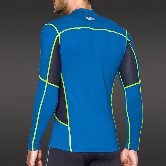 Under Armour ColdGear Compression New Mock Top (Blue Jet-Midnight)