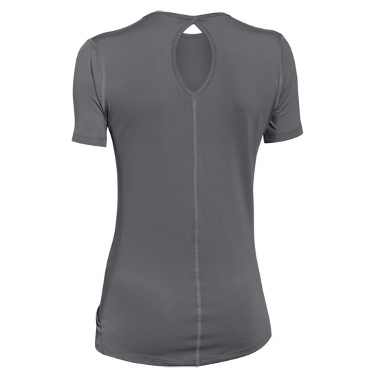 Under Armour CoolSwitch HeatGear Womens Tee (Graphite)