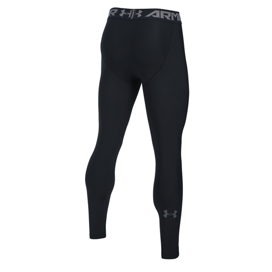 Under Armour HeatGear Compression 2.0 Mens Legging (Black-Graphite)