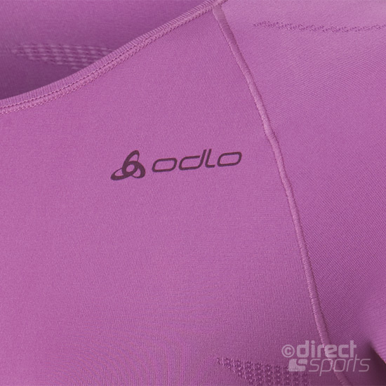 Odlo Evolution Light Womens SS Crew Shirt (Violet)