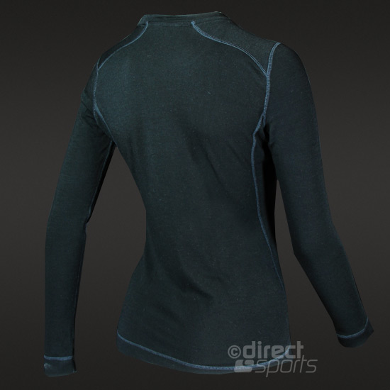 Smartwool Midweight Womens Long Sleeve Crew (Black)