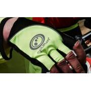 Optimum Nite Brite Half Finger Gloves (Hi-Vis Yellow)