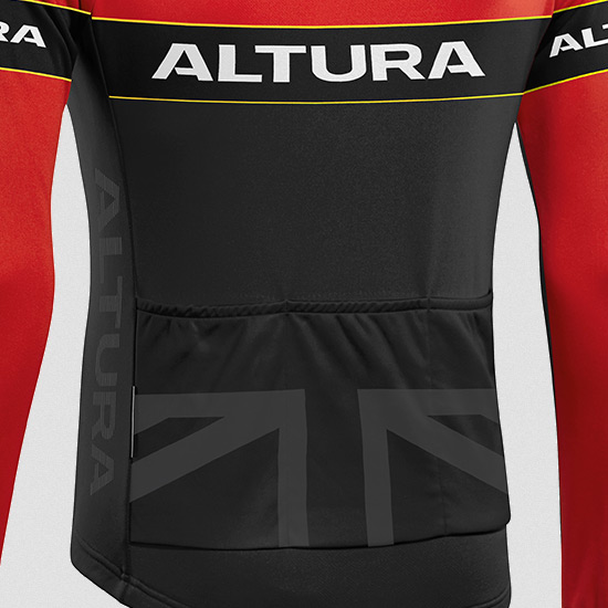 Altura Sportive Mens Long Sleeve Jersey (Team Red)
