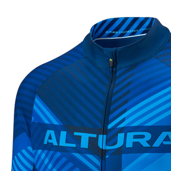 Altura Team Long Sleeve Jersey (Blue)