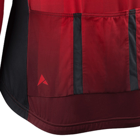 Altura Thermo Invader Long Sleeve Jersey (Red-Black)