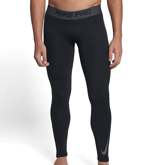 Nike Pro Dri-Fit Therma Mens Tights (Black-Anthracite-Dark Grey)