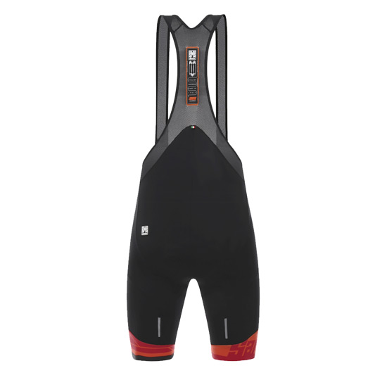 Santini Ace Mens Bib Shorts (Red)