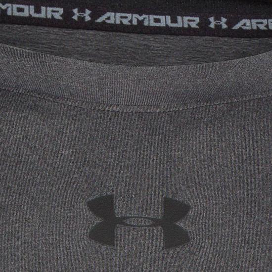 Under Armour HeatGear Compression Mens Shirt (Carbon Heather)