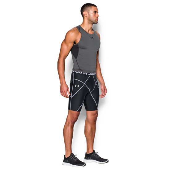 Under Armour HeatGear Mens Coreshort (Black)