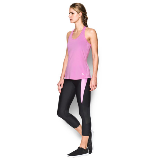 Under Armour CoolSwitch HeatGear Womens Tank (Verve Violet)
