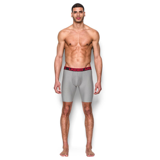 "Under Armour The Original 9"" Boxerjock (True Grey)"