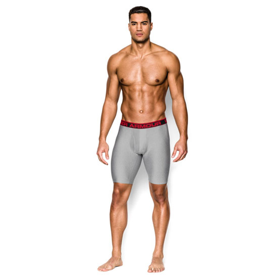 Under Armour The Original 9 Inch Boxer Jock (True Grey)