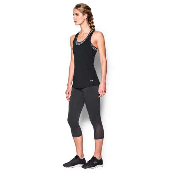 Under Armour CoolSwitch HeatGear Womens Tank (Black)