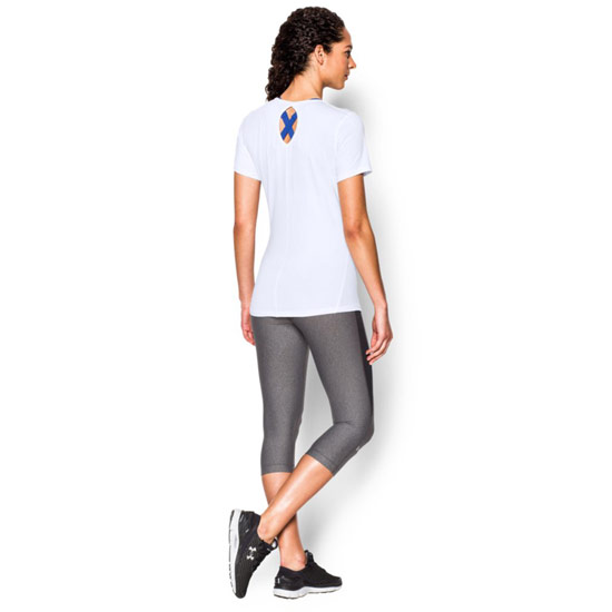 Under Armour CoolSwitch HeatGear Womens Tee (White)