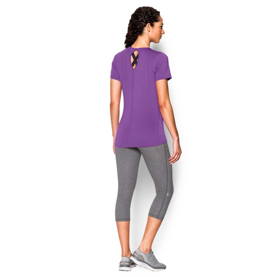 Under Armour CoolSwitch HeatGear Womens Tee (Mega Magenta)
