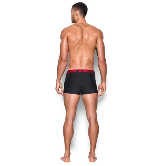 "Under Armour The Original 3"" Boxerjock (Black)"