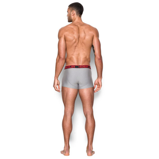 "Under Armour The Original 3"" Boxerjock (True Grey)"