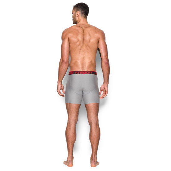 "Under Armour The Original 6"" Boxerjock (True Grey)"