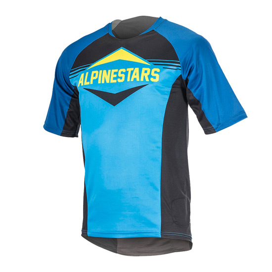 Alpinestars Mesa Mens Short Sleeve Jersey (Royal Blue-Bright Blue)