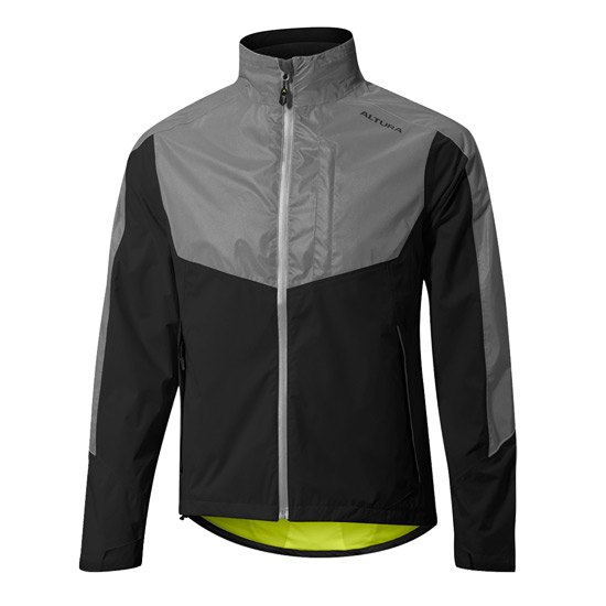 Altura Nightvision Evo 3 Mens Waterproof Jacket (Black-Reflective)