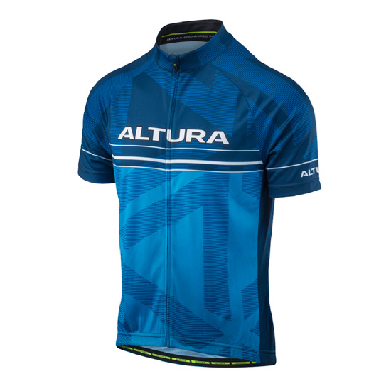 Altura Team Mens Short Sleeve Jersey (Blue-Black)
