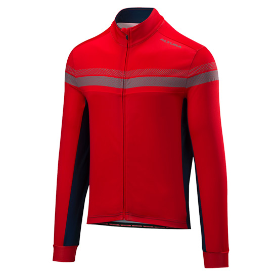 Altura Nightvision 4 Long Sleeve Jersey (Red-Blue)