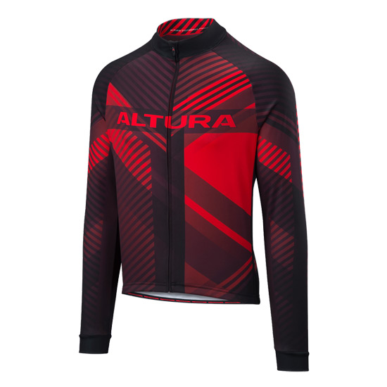 Altura Team Long Sleeve Jersey (Red)