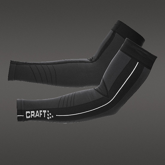 Craft 3D Arm Warmers (Black)