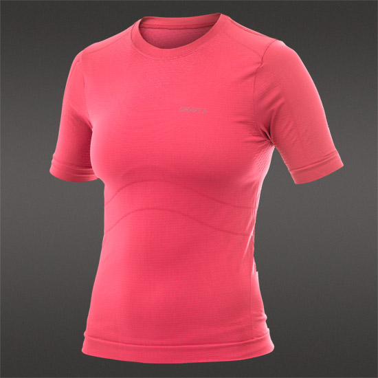 Craft Cool Seamless Womens SS Baselayer (Hibiscus)