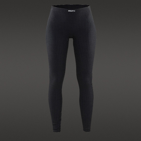 Craft Warm Wool Womens Baselayer Tights (Black)