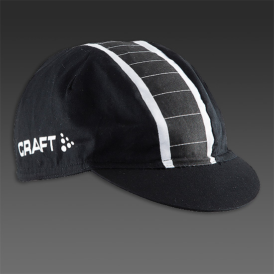 Craft Gran Fondo Cap (Black-White)