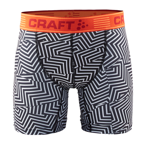 Craft Greatness 6-Inch Mens Boxer (Maze White-Bolt)