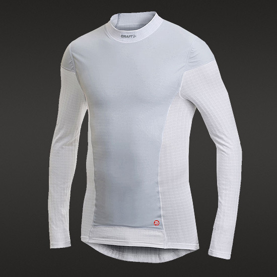 Craft Active Extreme Windstopper Mens LS Baselayer (White)