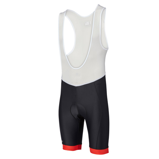 Madison Peloton Mens Bib Shorts (Black-Red)