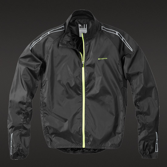 Madison Pac-it Mens Jacket (Black)