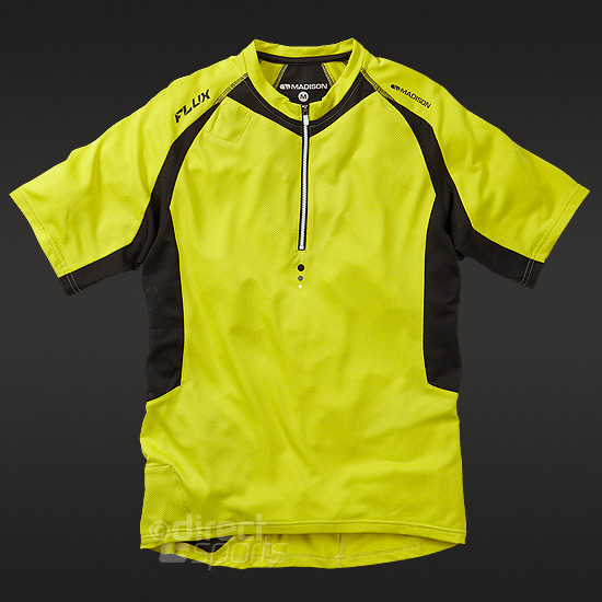 Madison Flux Mens Short Sleeve Jersey (Limeaid)